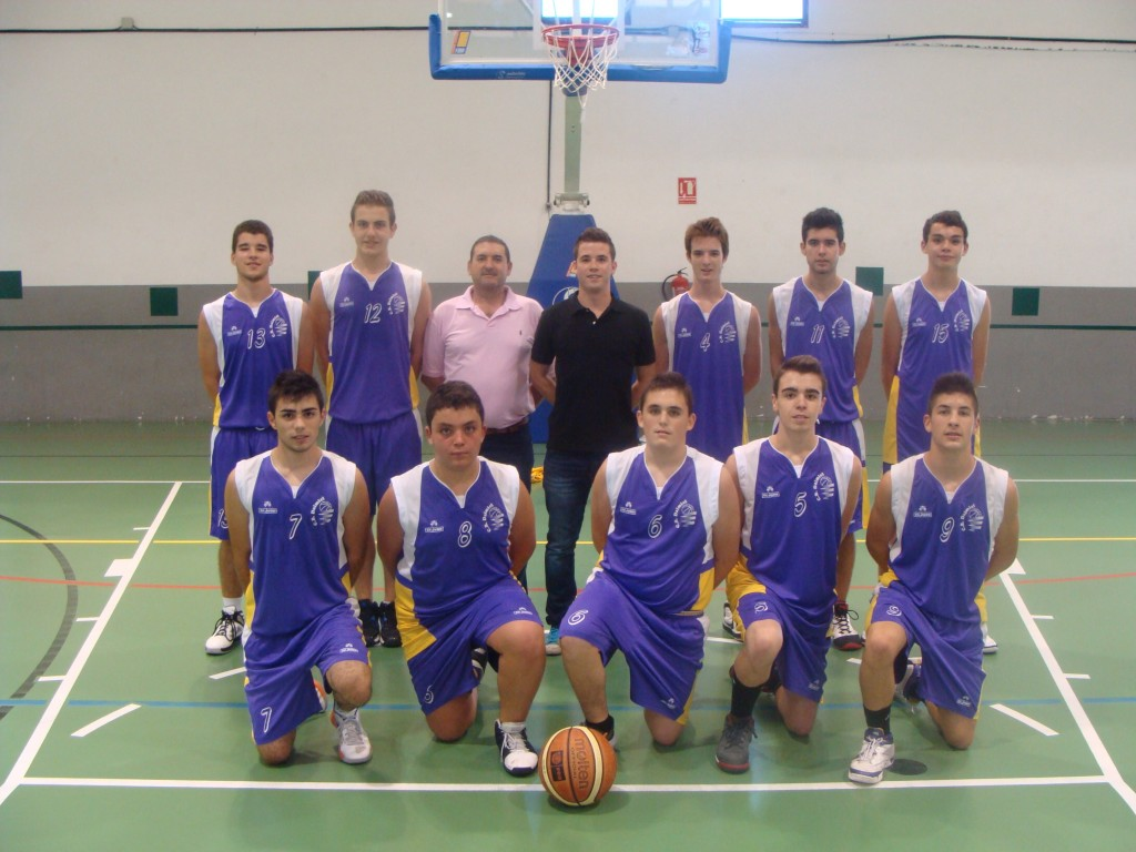 PLANTILLA JUNIOR PREFERENTE 2013/2014