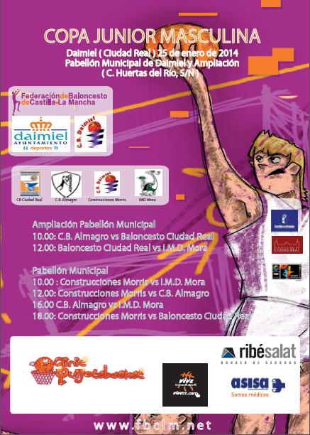 Cartel Copa Junior Masculina