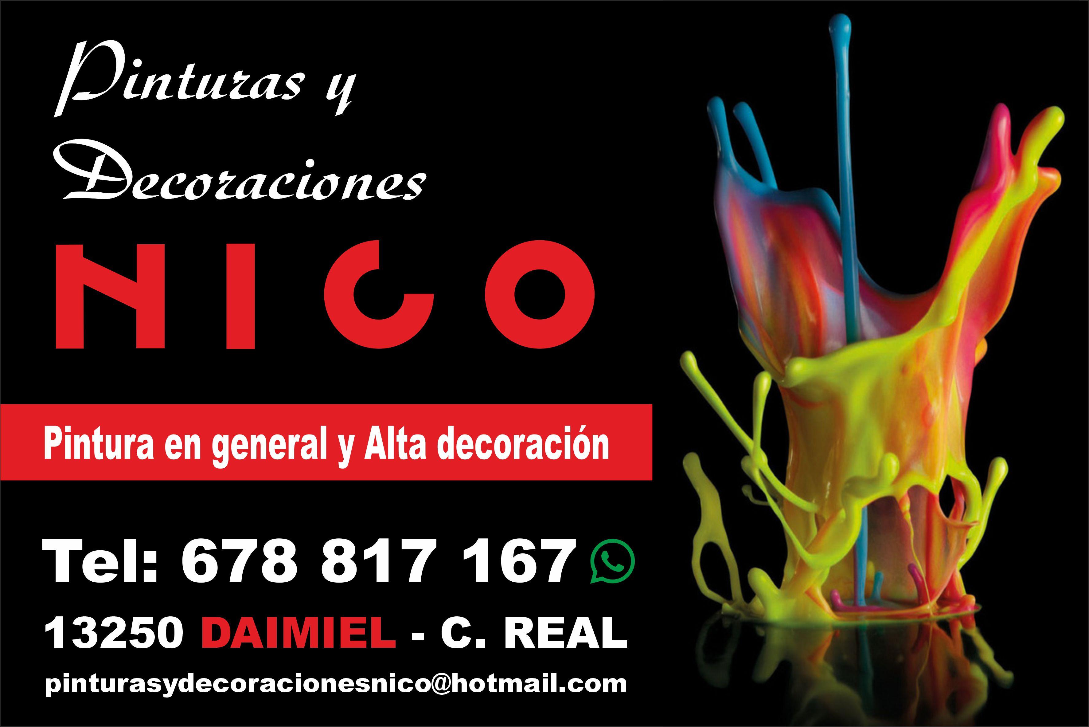 NICO PINTURAS Y DECORACIONES