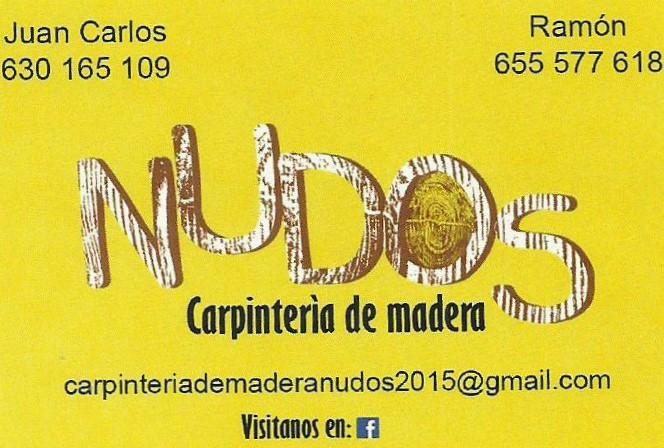 Nudos-carpinteria
